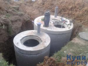 Септик из бетонных колец в Москве и области
