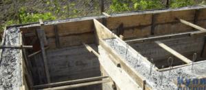 Монолитные погреба из бетона