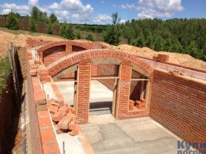 Строительство полузаглубленного погреба